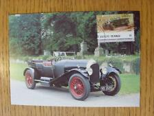 07/09/1984 Motor Car: Auto100 Postcard - Bentley 3 Litre 1927 [Stamped/Franked: