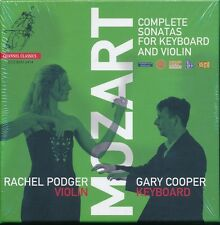 Mozart Complete Sonatas for Keyboard Violin box CD NEW Rachel Podger Gary Cooper