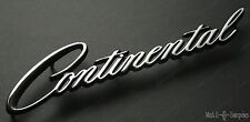 """1964-73 LINCOLN """"CONTINENTAL"""" Nameplate Script on QUARTER PANEL NEW AS ORIGINAL"""