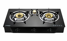 Gas Stove Cooktop 3 burners Portable Camping Indoor Caravan LPG 8.8kW PS-3 NEW