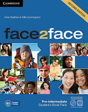 Face2face Pre-intermediate Student's Book with DVD-ROM and Online Workbook Pack,