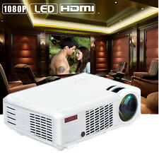 5000 LUMENS 3D WIFI 1080P FULL HD HOME THEATER MULTIMEDIA USB HDMI LED PROJECTOR