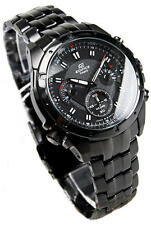 Casio EF-535BK-1AV Edifice Chronograph Carbon Fiber Dial Men's Watch
