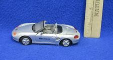 Porsche Boxster Med3000 Toy Car 1:24 Scale Silver 2 Door Silver InteGreat