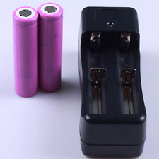 2PCS Sanyo UR16650ZTA Li-Ion Rechargeable Battery Batteries 2500mah 3.7V+Charger