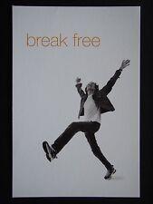 BREAK FREE ORANGE ONE A HOME PHONE & MOBILE IN ONE AVANT CARD #4703 POSTCARD