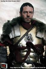 OneSixthKit 1/6 Scale Gladiator Russell Crowe Head Sculpt For Hot Toys ACI Body