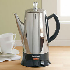 Cuisinart Classic Stainless Steel 12-Cup hot water for coffee Percolator PRC-12