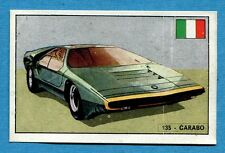 STORIA DELL'AUTOMOBILE Panini Figurina-Sticker n. 135 - CARABO -Rec