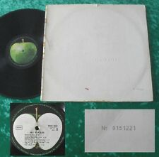 The Beatles 2 LP White Album (SMO 2051/52) 1968 Cover-No. 0151221
