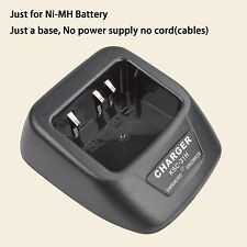 Base no power supply for Kenwood TK2202 Walkie Talkie Ni-MH Battery Charger