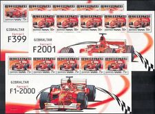 Gibraltar 2004 FERRARI/Racing/Cars/GP/F1/Grand Prix/Transport  6 x shtlts n42129