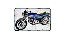 Ducati 860Gts Motorbike Sign Metal Retro Aged Aluminium Bike