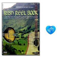 The Irish Reel Book mit CD, bunter herzförmiger Notenklammer 4018262103076