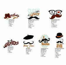 Dakota Collectibles Embroidery Machine Design CD- Marvelous Moustache (970583)