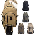 Canvas Men's Outdoor Travel Bags Vintage Style School Camping Rucksack Backpack