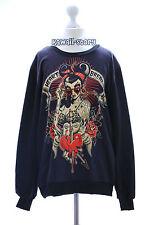 TY-G039 Punk Girl Retro black schwarz Gothic Punk Sweatshirt Pullover