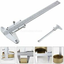 Stainless Steel 150mm / 6'' Vernier Caliper Micrometer Gauge Measurement Tool