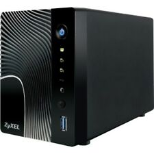 Zyxel NSA325 2-Bay Power Plus Media Server - 1 x 1.60 GHz - Type A USB