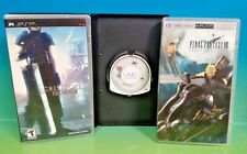 Crisis Core: Final Fantasy VII, Dissidia, Advent -PSP Playstation Portable Games