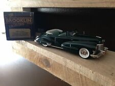 1947 Cadillac Convertible  BRK 74 1:43 Diecast Brooklin Model - Green RARE MODEL