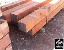 Iron Bark Posts 300 x 300mm Ironbark hardwood Spotted Gum Fencing Decking
