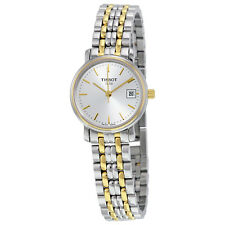 Tissot T-Classic Desire Silver Dial Ladies Watch T52228131