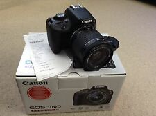 Canon EOS 100D 18.0MP Digital SLR Camera - Black (Kit w/ 18-55mm Lens) RRP £400