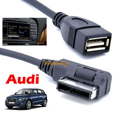 Music Interface AMI MMI to USB Adapter Cable for Audi A4 A5 A6 A8 Q5 Q7 Q8 A4L