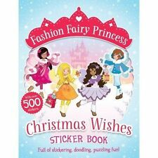 Christmas Wishes Sticker Book (Fashion Fairy Princess), Poppy Collins, New condi