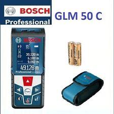 Bosch Blau Laser-Entfernungsmesser GLM 50 C Farbdisplay Bluetooth Professional