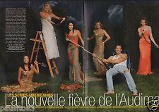 Coupure de presse Clipping 2006 La Fièvre des séries americaines  (10 pages)