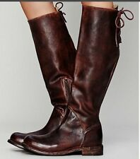 NEW Bed Stu Boots Manchester Teak Glaze Cobbler Series Leather Tall Boot Size: 6