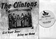 THE CLINTONS girl next door/drive me home 45 USA PS garage punk OOP L@@K