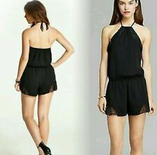GUESS BLACK ROMPER WITH LACER SIZE S
