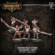 Warmachine BNIB - Khador Doom Reavers (6)