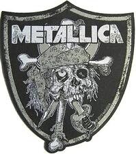 "METALLICA PATCH / AUFNÄHER # 42 ""RAIDERS LOGO"""