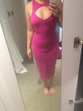 Sexy Fuchsia Dress Bebe Size M