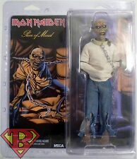 "EDDIE Iron Maiden Piece of Mind Retro Style 8"" inch Scale Music Figure Neca 2015"