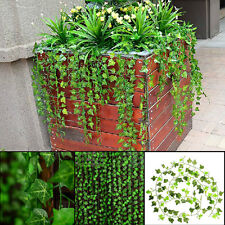 8.2feet Green Artificial Hanging Ivy Leaf Leave Plants Vine Fake Foliage Home
