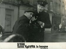 LOUIS DE FUNES FAITES SAUTER LA BANQUE 1964 VINTAGE PHOTO ORIGINAL