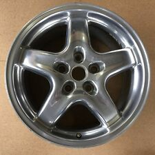 "2001 2002 Pontiac Trans Am Firebird Polished Wheel Rim Factory 17x9"" OEM # 6555"