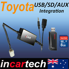 Toyota USB/AUX/SD Factory Radio Adaptor Interface for Camry/Aurion/Corolla/Rav 4