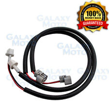 "10-17 Jeep Wrangler JK 2pcs 24"" Fog Light Extension Cable Wire Harness+Cover"