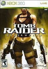 Tomb Raider: Underworld (Microsoft Xbox 360, 2008)  ~ Used Complete ~