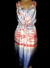 BANANA REPUBLIC SILK DRESS SIDE POCKETS SIZE 12 SIZE 14