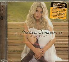 Jessica Simpson - Do You Know? (Deluxe Version) 1 CD & 1 DVD SET - NEW