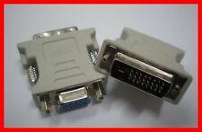 ADAPTATEUR HD DVI-D 24+1 PINS MALE vers VGA 15 PINS FEMELLE