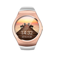 Gold V365 Bluetooth Smart Watch with Camera 1.3'' LCD Screen for iPhone Samsung