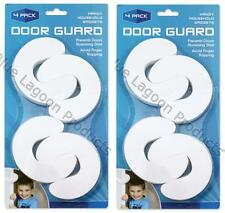 4 x Door Guard Stopper Baby Safety Jammer Door Stop Foam Anti Finger Slamming
